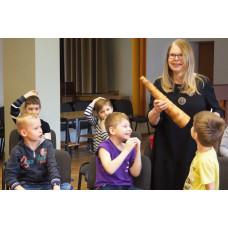 """Educational lesson """"Latviešu tautas mūzikas instrumentu pasaulē"""""""