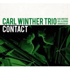 "CD ""Carl Winher Trio. Contact"""