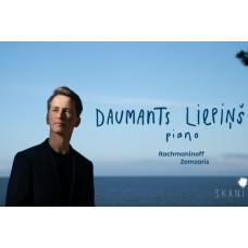 """CD """"Liepiņš, Daumants. Piano"""""""