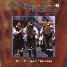 "CD ""Anthology Folklore Music. Croatia and Slovenia"""