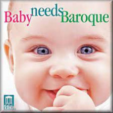 "CD ""Bērniem ""Baby needs Baroque"""