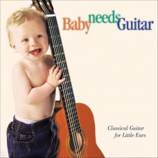 "CD ""Bērniem ""Baby needs Guitar"""