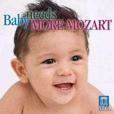 "CD ""Bērniem ""Baby needs more Mozart"""