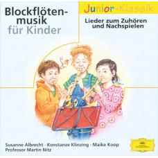 "CD ""Bērniem ""Blokfloten-musik fur Kinder"""