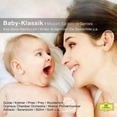"""CD """"bērniem """"Baby-Klassik. Mozart fur kleine Genies"""""""