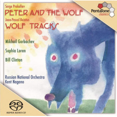 "CD ""Bērniem ""Peter and the Wolf. Wolf tracks"""