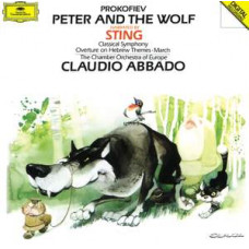 "CD ""Bērniem ""Peter and the Wolf"""