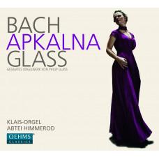 "CD ""Apkalna Iveta. "" Bach. Apkalna. Glass"""
