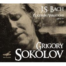"CD ""Bach J. S. ""Goldberg variations"""