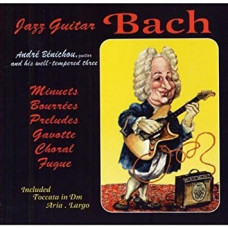 "CD ""Bach J. S. ""Jazz Guitar"""