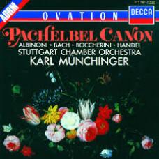 "CD ""Bach J. S. ""Pachelbel Canon"""