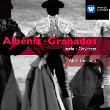 """CD """"Albéniz, Granados """"Iberia. Goyescas"""""""