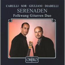 """CD """"Folkwang Gittaren Duo """"Serenaden"""""""