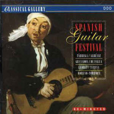 "CD ""Spanish Guitar Festival"""