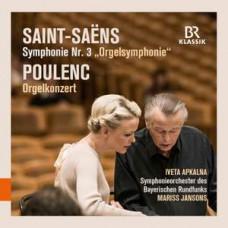 "CD ""Apkalna Iveta & Jansons Mariss ""Saint-Saens. Poulenc"""
