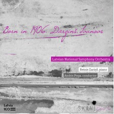 "CD ""Born in 1906. Dārziņš. Ivanovs"""