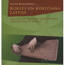 """Book """"Muktupāvels Valdis """"Kokles un koklēšana Latvijā"""""""