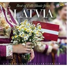 """CD """"Best of Folk Music from Latvia"""""""
