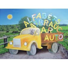 """Book """"Alfabēts  Atbrauc  Ar Auto"""""""