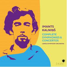 "CD ""Kalniņš Imants. Complete Symphonies & Concertos"