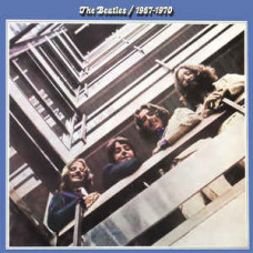 """Vinyl """"Beatles """"1976 - 1970 (Blue)"""""""