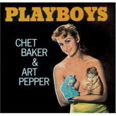 """Vinyl """"Baker Chet & Art Pepper """"Playboys"""""""
