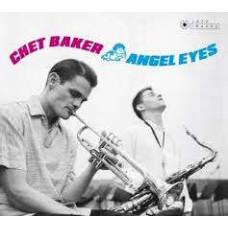 """Vinyl """"Baker Chet. Angel eyes"""""""