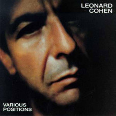 "Vinyl ""Cohen, Leonard ""Various Positions"""