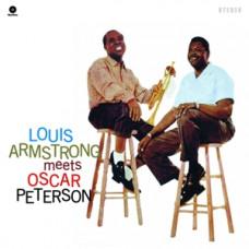 """Vinyl """"Armstrong, Louis. Louis Armstrong meets Oscar Peterson"""""""