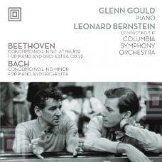 "Vinyl ""Beethoven, Bach ""Concertos for piano"""