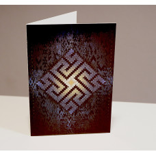 Souvenir. Postcard, The Fire Cross