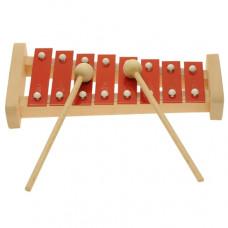 Metallophone, Xylophone